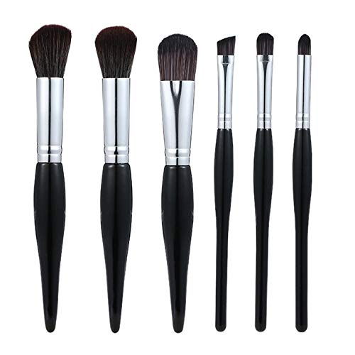 DMXY 6 Pcs New Womens Mode Maquillage Outils Foundation Brush Blush Brosse Lâche Brush Maquillage Ensemble,A