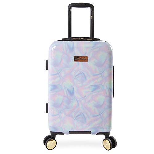 Juicy Couture Women's Belinda 21' Spinner, Holographic, One Size