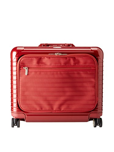 Rimowa Salsa Deluxe Hybrid Business Multiwheel 42L Spinner Luggage, rot