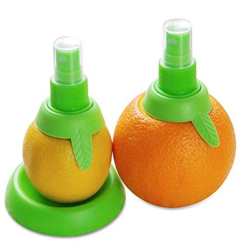 Lemon sprayer gadget, Green Citrus Sprayer Set, 2pcs, in 3.9