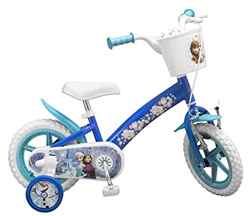 TOIMS - Bicicletta da Bambina di Frozen, 12', 3/4 Anni