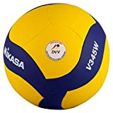 MIKASA V345W Ballon de Volley-Ball Bleu 5