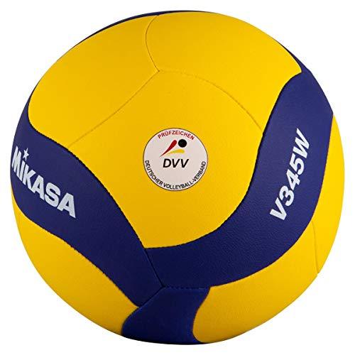 Mikasa Volleyball V345W, blau, 5