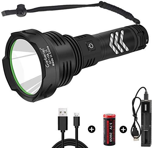 Superhelle LED Taschenlampe XHP90 10000...