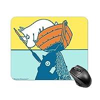 ムーミン ミイマウスパッド 小型 ラバー 便利 防水 耐久性 DANESI 滑り止め オフィス/ゲーム用 おしゃれ 可愛い キャラクター