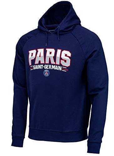 Paris Saint-Germain heren-capuchon-sweatshirt, officiële collectie, maat volwassenen