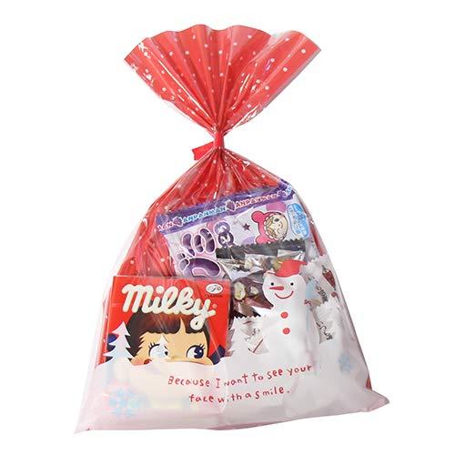 クリスマス袋 340円 お菓子 チョコレート 詰め合わせ(Aセット) 駄菓子 袋詰め おかしのマーチ