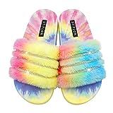 Sandales Style Claquettes Mixte Adulte, avec fonction de massage idéale pour l'été antidérapantes salle de bain Couples Chaussures de plage décontractées -B / 41