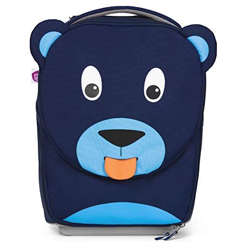 Affenzahn Kindertrolley in Handgepäckgröße - Bär - Blau