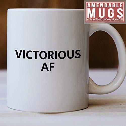 Overwinnende AF Mok Overwinnend Cadeau-idee Deze Overwinnende Mok maakt een geweldig cadeau voor iemand die gewoon overwinnaar is