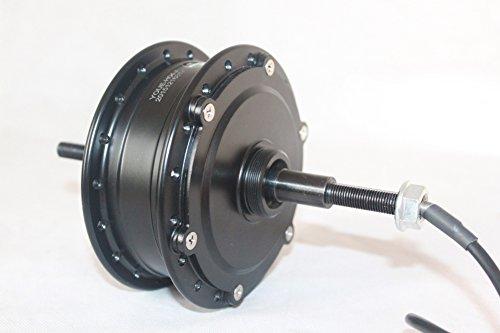 L-faster 24V 36V 48V 250W elektrisches Fahrrad hinten Radnabenmotor Elektro-Fahrrad Brushless Hub Spokes Motor Elektro-Naben-Motor mit Schwungrad (24V)