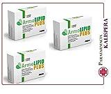 3 ARMOLIPID PLUS 60 CPR SEI MESES DE TRATAMIENTO PARA EL COLESTEROL Y...