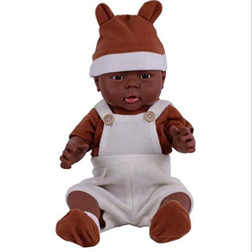 KESOTO Poupée Bébé Nouveau-né en Silicone Souple 16 Pouces Réaliste Reborn avec Vêtements