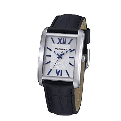 Time Force Orologio Analogico Quarzo Uomo con Cinturino in Pelle TF4057L03
