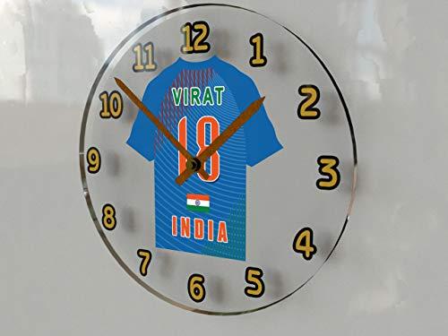 International Cricket Jersey Wanduhren–Jeder Name, beliebige, jedes Team, kostenlose Personalisierung. INDIA
