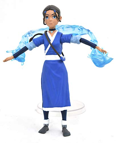 DIAMOND SELECT TOYS Avatar The Last Airbender: Katara Deluxe Action Figure, Multicolor