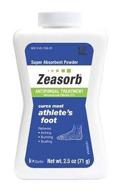 Zeasorb Antifungal Treatment Powder