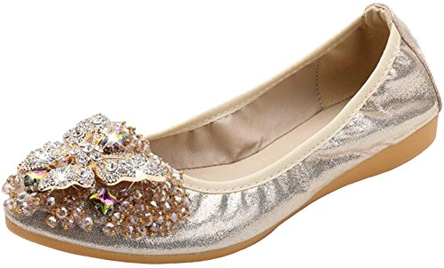 PPXID - Zapatos de bailarinas para mujer o niña, planos de trabajo,...