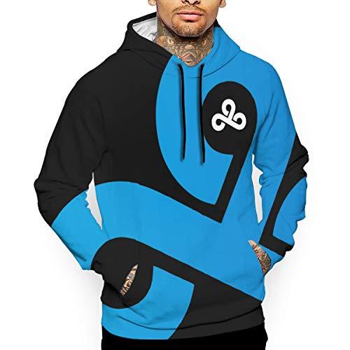 Muindancer Cloud 9 Logo 1 Men's Sweaters Fashion Hoodies Sweatshirts Pullover L