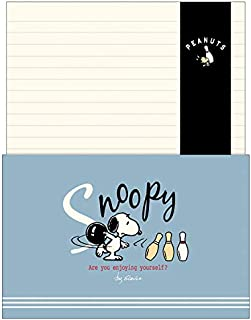 Snoopy Letter Set Enjoy Bowling Holiday Series 214138