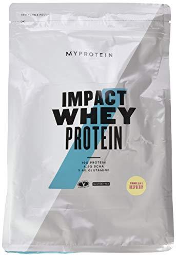 Myprotein Impact Whey Protein Vanilla Raspberry, 1er Pack (1 x 1000 g)