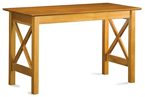 Atlantic Furniture Lexi Desk, Caramel Latte