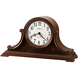Howard Miller Albright Mantel Clock 635-114 – Windsor Cherry with Quartz & Dual-Chime Movement
