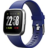 DSMART 2019 Version H4 Smartwatch for Men&Women/Health Watch Heart Rate Blood Pressure Sleep