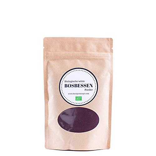 Bio wilde heidelbeeren pulver 150 g