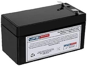 BP1.2-12 12 Volt 1.2 Ah SLA Replacement Battery w/ F1 Terminal