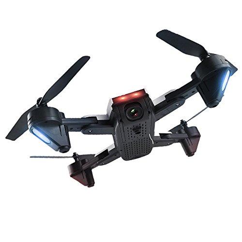 Goolsky SG700 2.0MP Kamera WiFi FPV Faltbare 6-Achsen-Gyro Optical Flow Positionierungshöhe Halten Headless RC Quadrocopter w / Zwei Batterien