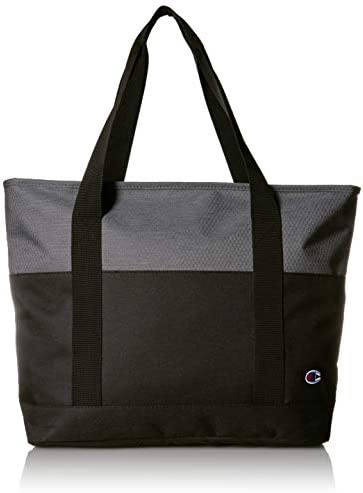 Champion unisex adult Signal Gym Tote Bags Grey Black One Size US product image