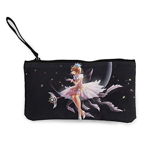 KlsdkurwGR Cardcaptor Sakura Women Storage with Zipper Wallets