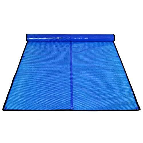 HH- Cubierta Solar Aislamiento de Cubierta de Piscina para Bañera de Hidromasaje, Manta Calefactora de Cubierta Solar para Piscinas Rectangulares Enterradas Y Elevadas (Size : 4m × 6m(13ft×19f