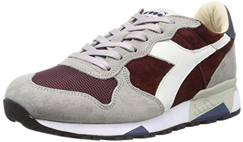 Diadora Sneaker Uomo Trident 90 Suede SW Heritage 55085 Rosso Malaga, 9