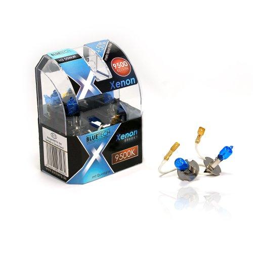 BLUETECH 2X Plus H3 55W 9500K Xenon Effekt mit StVZO Zulassung! …