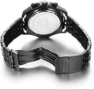 ساعة للرجال من ميجر، سوار ستانليس ستيل، كرونوغراف  2007-22