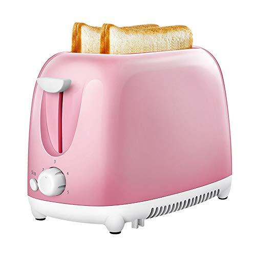 JYDQB Tostadora eléctrica automática, 2 rebanadas, ranura para tostar, horno, parrilla, calentador,...