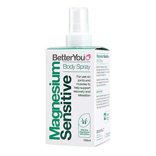 BetterYou Magnesium Oil Spray Sensitive, 100 millil