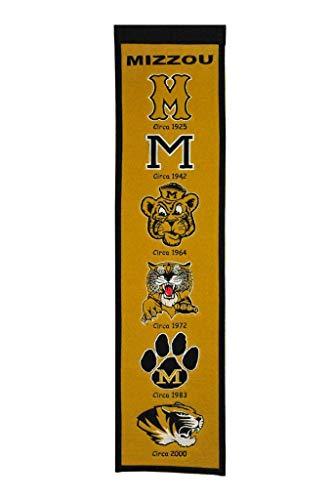 Winning Streak NCAA Missouri Tigers Heritage Bannière