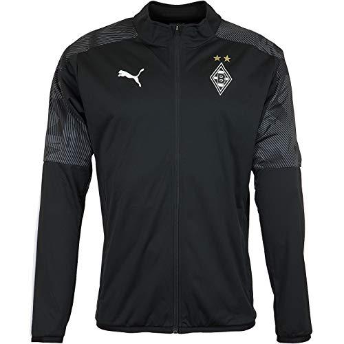 PUMA Borussia Mönchengladbach Sideline Jacket Jacke (XL, schwarz)