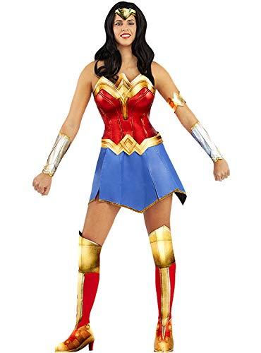Funidelia | Disfraz de Wonder Woman Oficial para Mujer Talla XL  Mujer Maravilla, Superhéroes, DC Comics, Liga de la Justicia