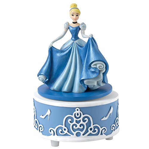 Enesco Enchanting Disney Cenerentola Un Sogno E Un Desiderio Musicale, PVC, Multicolore, 7X9X11.5 Cm