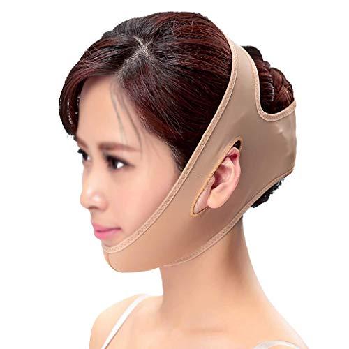 WYYAF slankheidsgordel, gezichtsmasker, smalle gezichtsmasker, kunststof, plat, Artefacto voor massage van muziek, dubbele kin, huid met littekens, hyperplasia, V-lijn