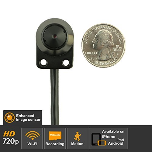 Titathink TT520W-PRO Enhanced HD 720P Professional Wireless Wi-Fi Micro Nanny Network Camera, Support iOS/Android,PC and Mac Compatible