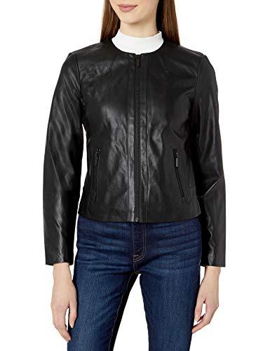 Armani Exchange Soft Eco Leather Chaqueta bomber para Mujer