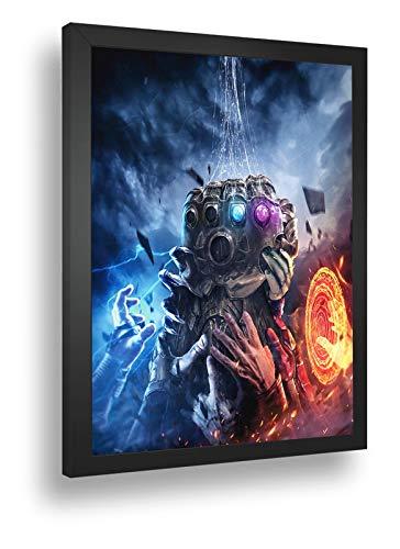 Quadro Decorati Poste Thanos Manopla Do Infinito Marvel