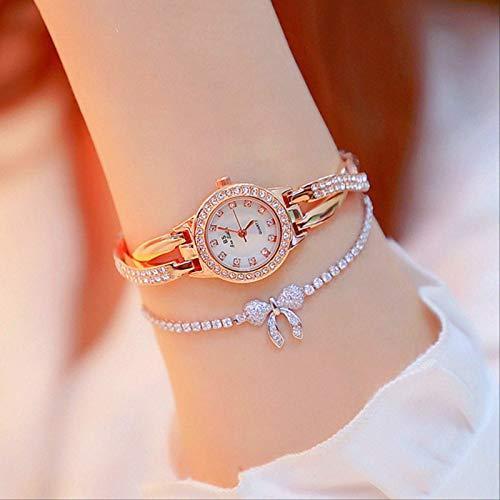 Miwaimao El Nuevo Reloj De Niña Lleno De Estrellas Está Lleno De Diamante Moda Pequeña Esfera Impermeable Reloj De Mujer