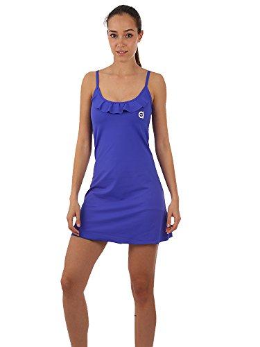 a40grados Sport & Style Viridiana Vestido de Tenis, Mujer, Azul, 36