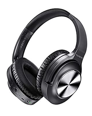 Active Noise Cancelling Headphones VANKYO C750 Bluetooth Headphones Over Ear with Microphone Wireless Headset Hi-Fi Stereo Deep Bass with 30H Playtime, Protein Earpads for Travel Work TV PC Cellphones from VANKYO